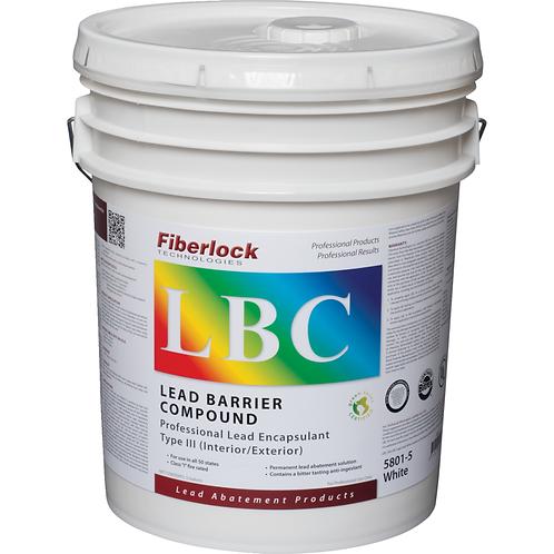 Fiberlock, Lead Encapsulant, Lead Barrier Compound (LBC), Type III Interior/Exte