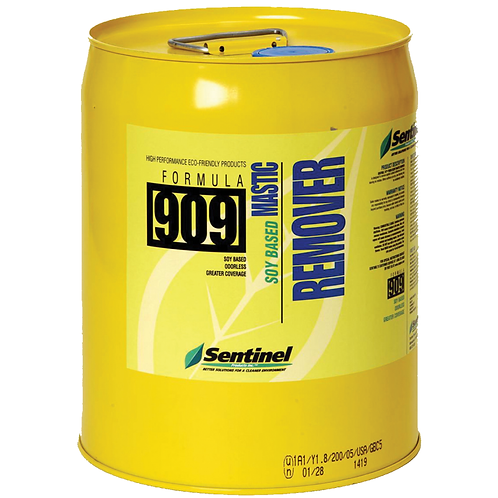 Sentinel, 909 Soy Mastic Remover, 5 Gallons