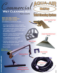 AA370 – Heavy-duty wet cleaning tools for carpet, upholstery, and hard-floor c