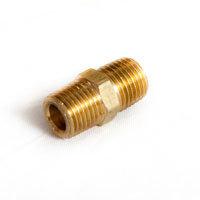 """BR072 – Nipple, 1/4"""" Brass"""