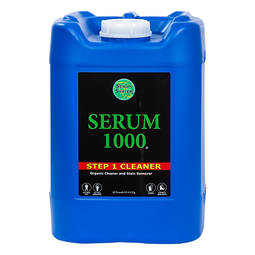 Serum Products, Mold Remover, Serum 1000 Step-1 Cleaner, 5 Gallons
