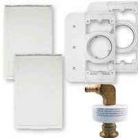 AA135Z – Wet/Dry In Wall – Outlets – White