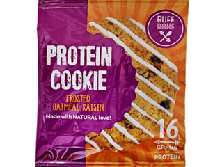 Buff Bake - Protein Cookies - Frosted Oatmeal Raisin