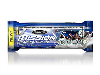 MuscleTech Mission One Bar Cookie & Cream