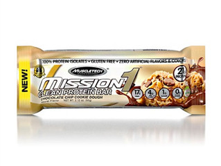 MuscleTech Mission One Bar Chocolate Chip Cookie Dough
