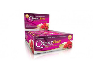 Questbar White Chocolate Raspberry