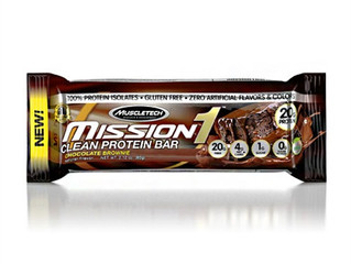 MuscleTech Mission One Bar Chocolate Brownie