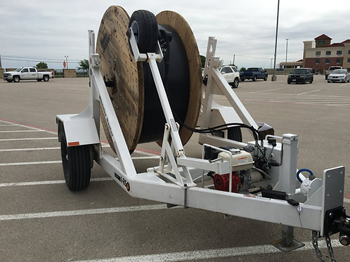 45 Reel Trailer With Hydraulic Reel Winder