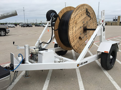 I-85 Reel Trailer w/ Hydraulic Reel Winder