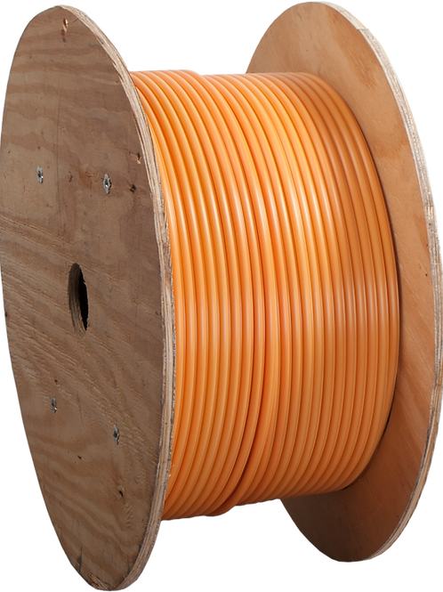 Microduct, Orange 10/6mm w/20awg Tracer Wire & Pull Tape