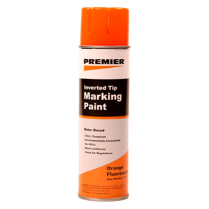 Krylon Orange Marking Paint, Solvent Base Min. 108 cans