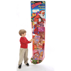 6 ft Toy-Filled Christmas Stocking