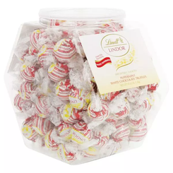 Lindt Lindor Peppermint White Chocolate Truffles