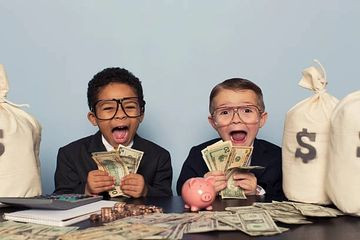 Teaching Children how to save and budget money
