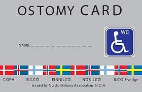 Avannekortti - Ostomy card