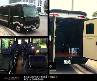 Xe Fuso Limousine 18 chỗ