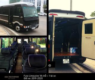 PRICE OF LIMOUSINE 18 SEATERS RENTAL IN HANOI