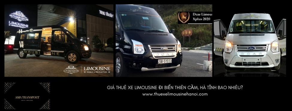 Giá thuê xe Limousine đi Thiên Cầm Hà Tĩnh