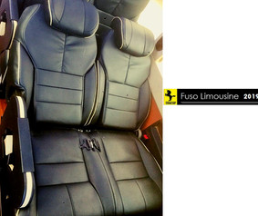 ghế ngả của xe fuso limousine