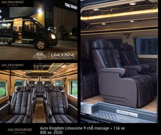 thuê xe Limousine 9 ghế massage