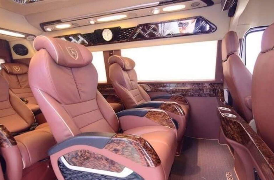 ghế Xe Limousine 9 chỗ