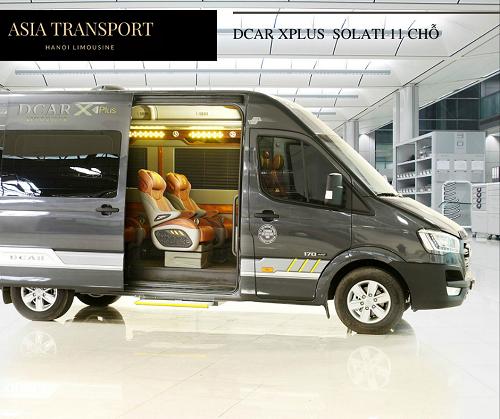Giới thiệu xe Dcar Xplus Solati 2020