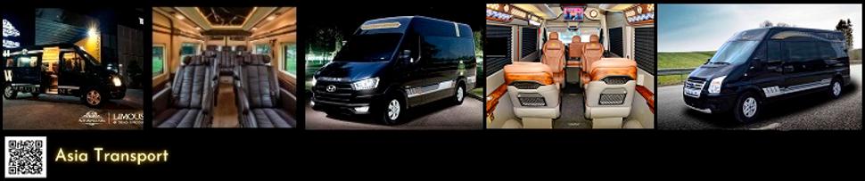 Rental Van Dcar & Fuso Limousine to province near Hanoi