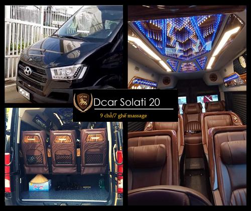dcar solati limousine 7 ghế masage