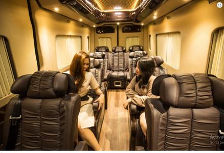 khoang ghế xe auto kingdom limousine