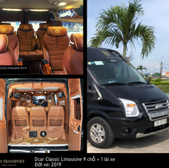 private limousine 9 seaters rental