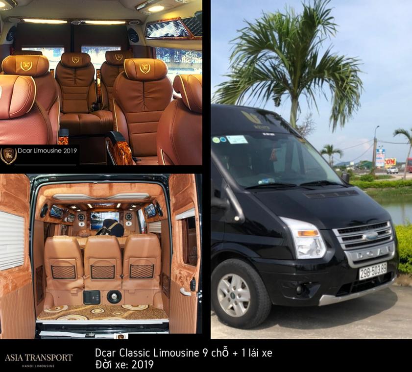 Dcar Classic Limousine 9 chỗ