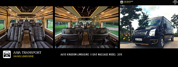 thuê xe limousine có ghế massage