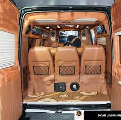 private van limousine 9 seater in hanoi