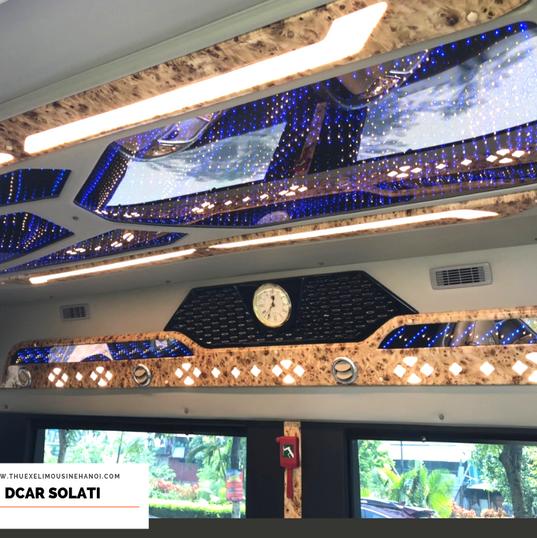 Nội thất xe Dcar Solati 2019