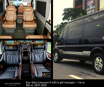 xe dcar limousine xplus 9 chỗ