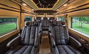 Ghế massage của Xe Auto Kingdom Limousine