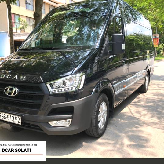 Cho thuê xe Dcar Solati 9 chỗ 2019