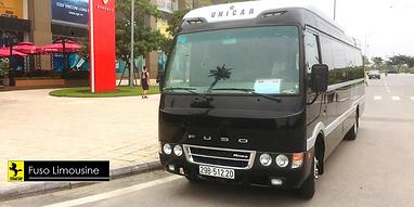 thue xe limousine 19 cho di ong Hoang Bay