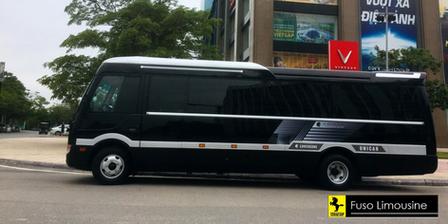 thue xe limousine 18 cho di ha long