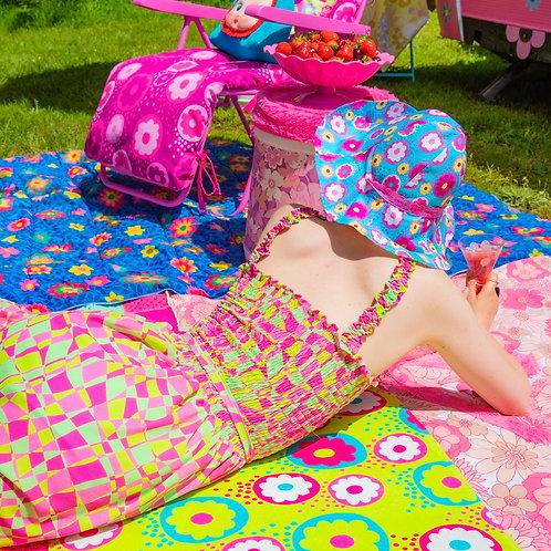 FLOWER POWER ACID flower fairy hat