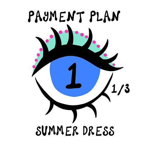SUMMER DRESS PAYMENT PLAN 1