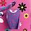 Thumbnail: BUBBLEGUM TRIP velvet tiny top (+gloves)