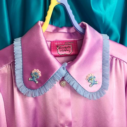 ALL THE TRIMMINGS (lilac bear) shirt (M)