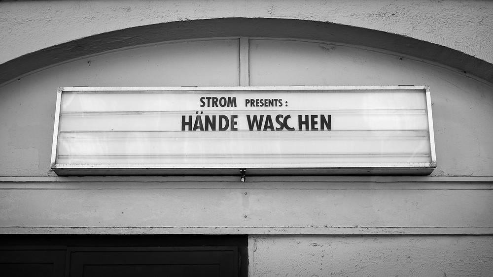 Hände waschen statt Konzerte