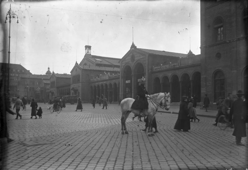 Münchner Centralbahnhof 1923