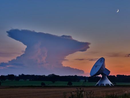 Komet Neowise in Raisting