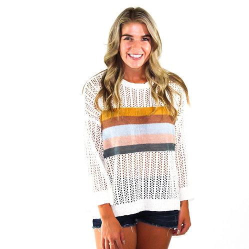 Air White Sweater