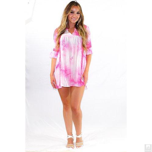 Pink Tie Dye dress