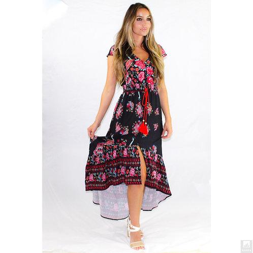 Enchanted Bohemian High Low Dress