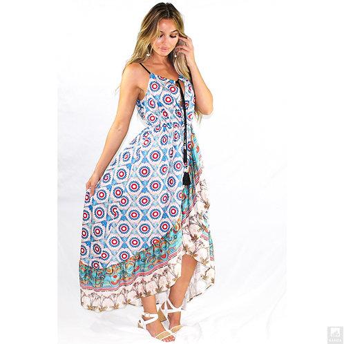 Heretic Bohemian High Low Dress